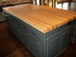 Borders Kitchen – Solid American Hardwood Island with Butcher ...