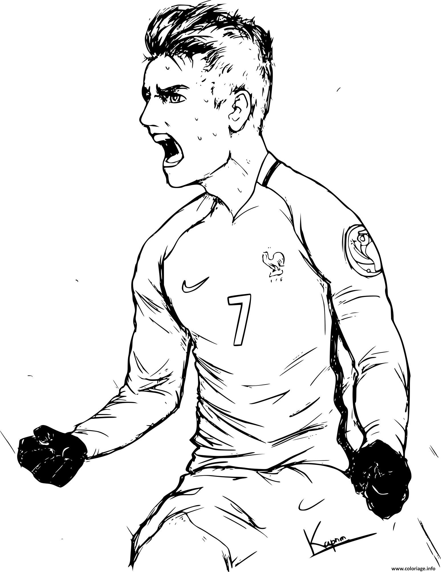Coloriage à Imprimer Football