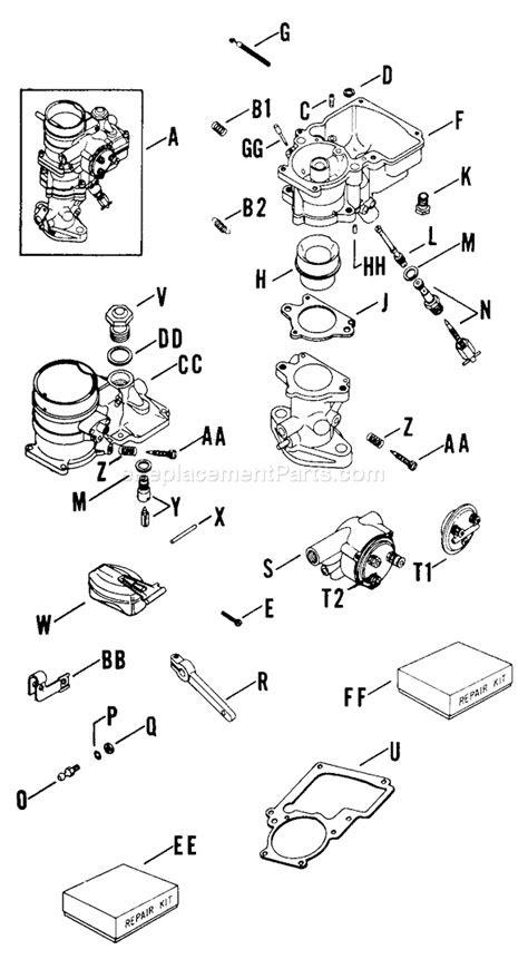Kohler K662-4510B Parts List and Diagram