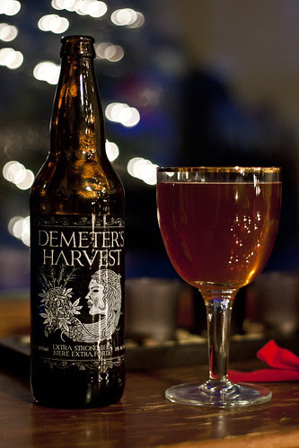 Review: Half Pints' Demeter's Harvest Wheat Wine by Cody La Bière