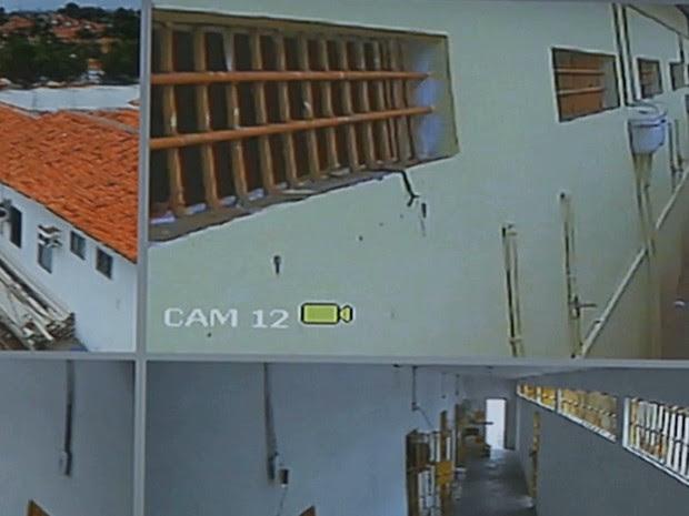 Material apreendido foi achado durante uma revista realizada pelos carcereiros de monitoramento (Foto: Reprodução/TV Mirante)