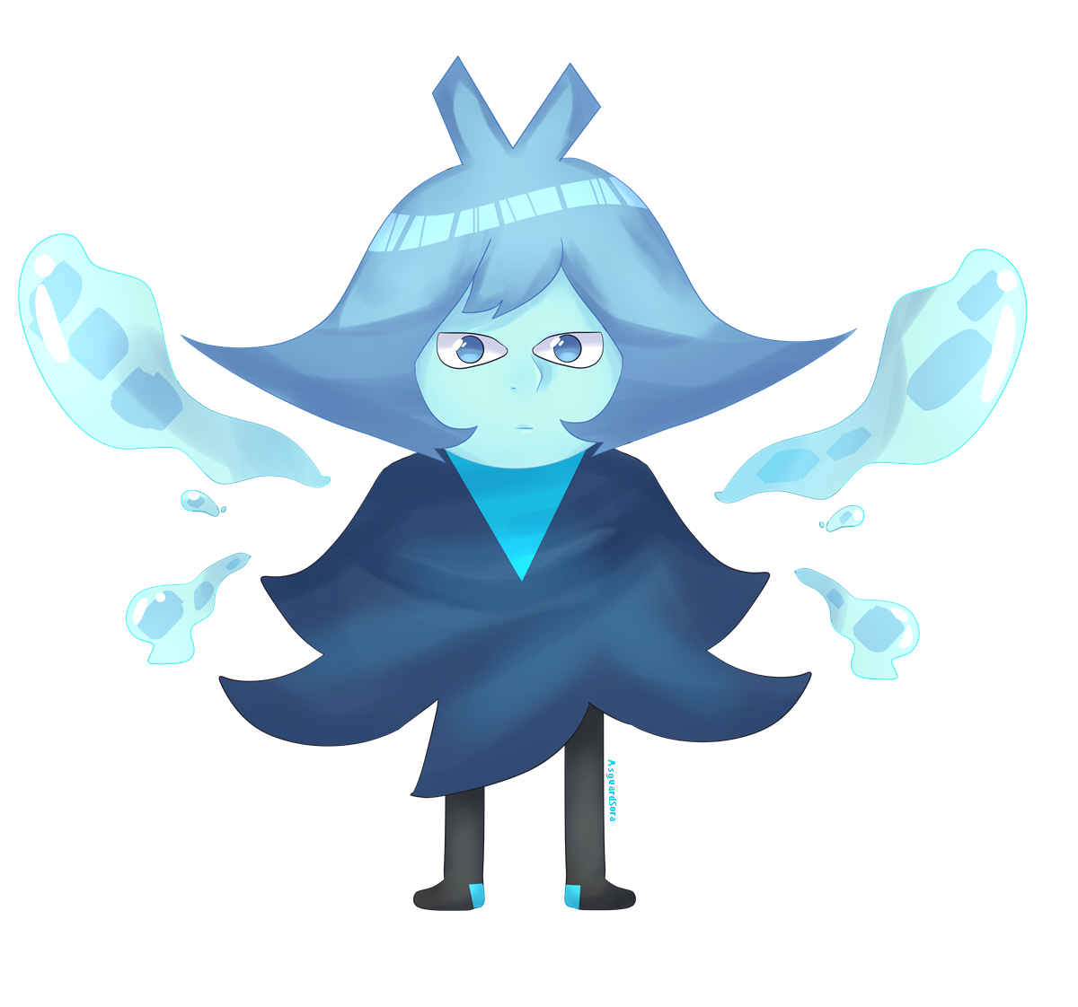The New Gem, Aquamarine I suppose?