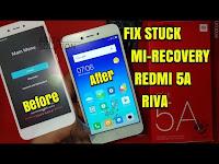 Xiaomi Redmi 5A Riva Solusi Stuck Mi-Recovery Install Rom Global Version Tanpa UBL (MCT3B/MCE3B)