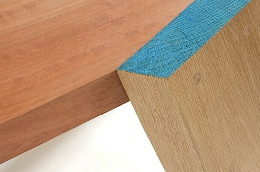 d-i-y wooden furniture: just paint the cut ends | The Improvised Life