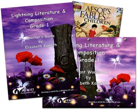 Lightning Literature & Composition Pack Grade 1