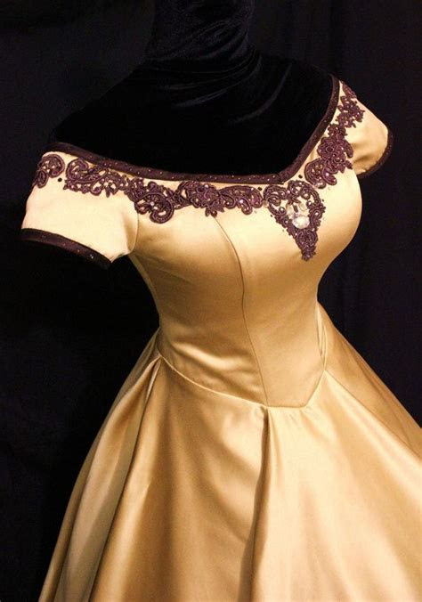 Once Upon A Time Belle Inspired Golden Gown. This will be