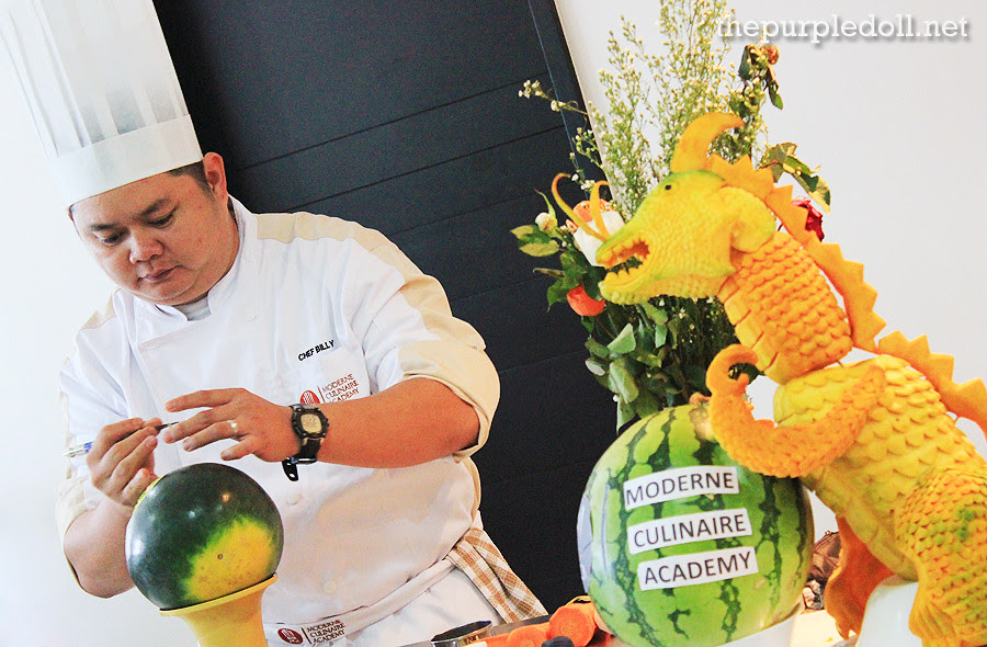 Fruit & Vegetable Carving by Chef Billy Anislag