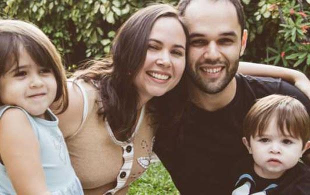 Filipe e Juliana se conheceram em uma comunidade do Orkut (Foto: Arquivo pessoal)