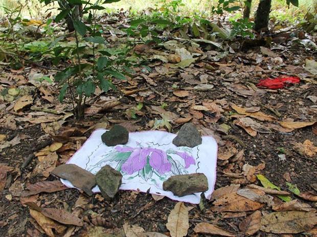 Bebê encontrado morto em Varzedo, na Bahia (Foto: Marcello Dial/Site Voz da Bahia)