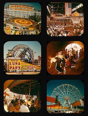 Coney Island Usa Bulletin Board