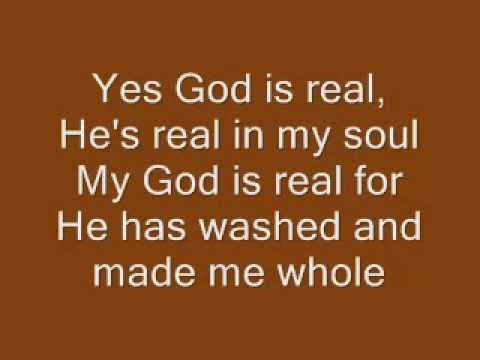 My God Is Real Lyrics Charles Johnson