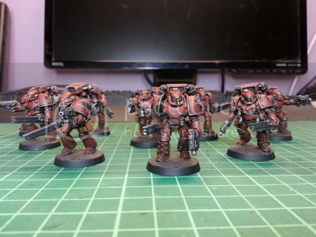 30k Heresy Assault Squad