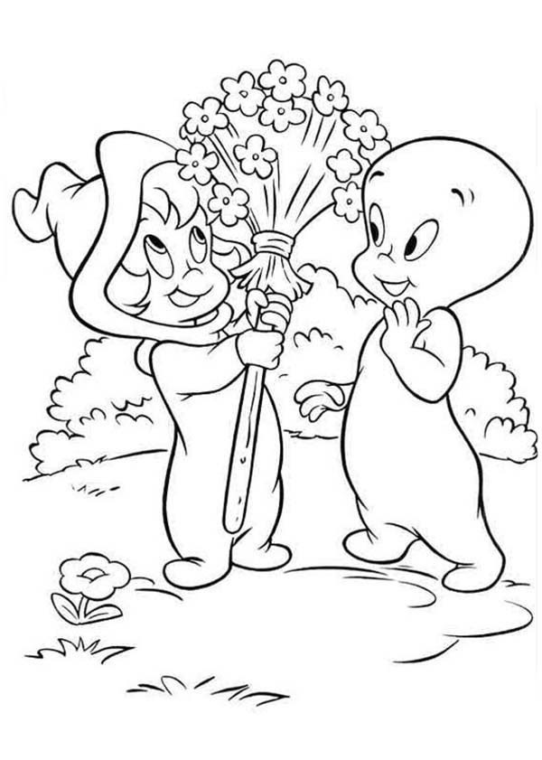Download Casper Coloring Pages at GetColorings.com   Free printable ...
