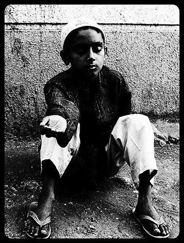 The Muslim Blind Beggar Of Bandra Bazar Road by firoze shakir photographerno1