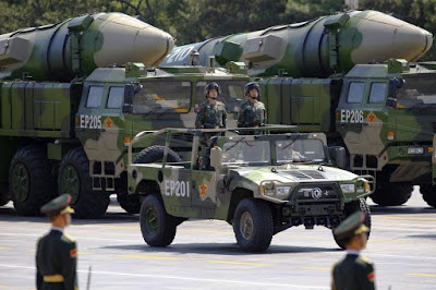 A Chinese - U.S. War Will Be Fought With Missiles