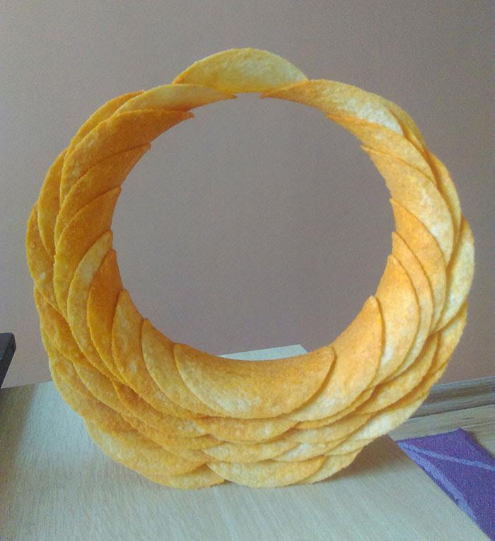 Lata de Pringles + Ingeniero aburrido
