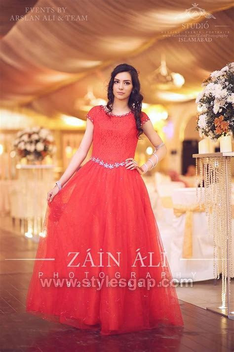 Latest Party Wedding Wear Frocks Designs Collection 2018 2019