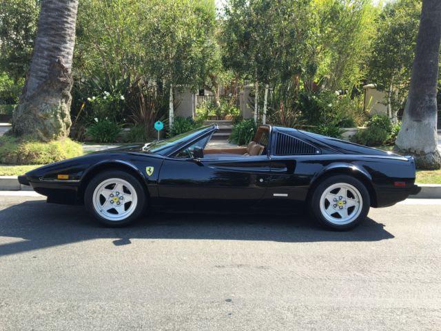 Ferrari 308 Spyder 1982 Black For Sale. ZFFAA02A1C0040133 ...