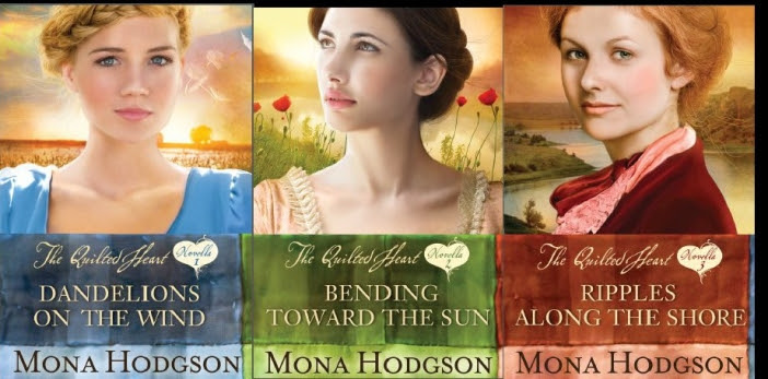 The Quilted Heart novellas