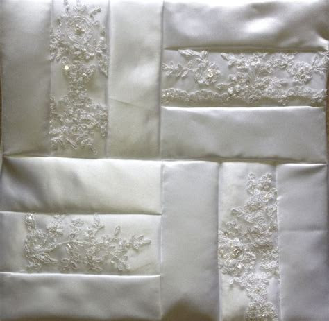 25  best ideas about Wedding Dress Quilt on Pinterest