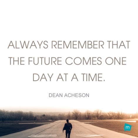 Dean Acheson Quote Time Quote Always Remember That The Future