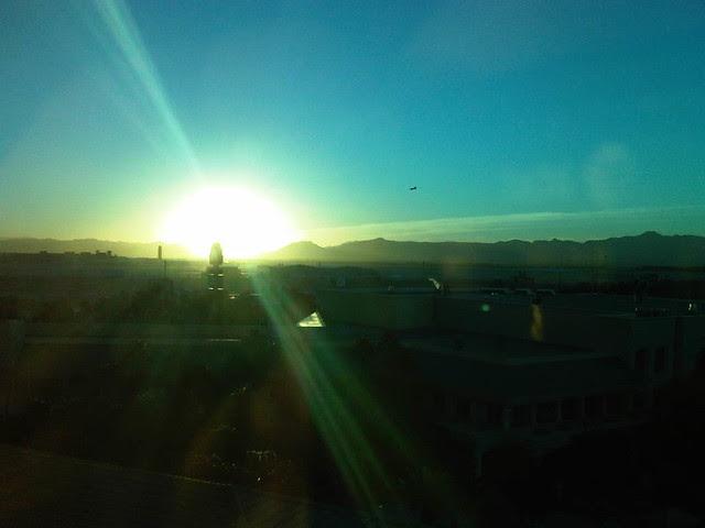 Dawn over Las Vegas
