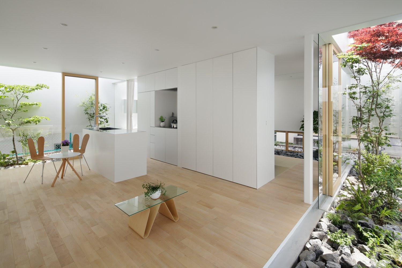 Zen Style Interior Design Living Room – 24 SPACES