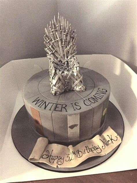 17 Best images about Game of Thrones cake on Pinterest