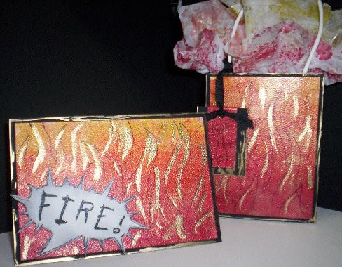 Fire Card n Gift bag