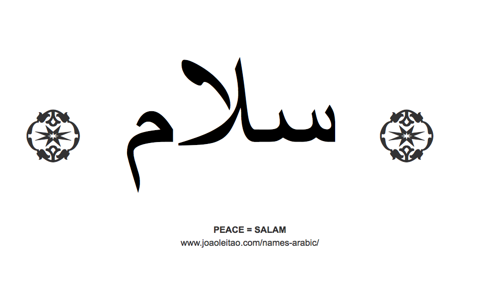 Beautiful Words In Arabic Arabic Names Beautiful