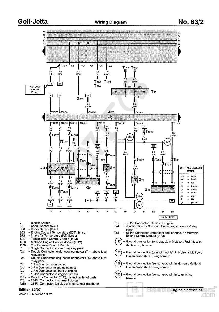 Fuse Box Diagram For A 2003 Vw Jettum 1 8t