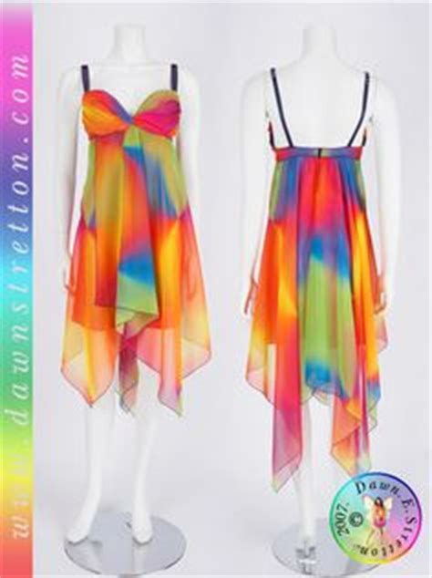 rainbow prom dress  pinterest
