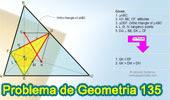 Problema de Geometría 135. Triangulo Órtico, Alturas, Circunferencia Inscrita, Puntos de Tangencia, Perpendicular, Paralela, Congruencia.