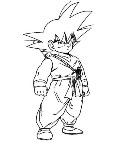 Dbz Coloring Page Free Printable Coloring Pages