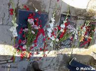 مزار محمد مختاری و محمدجعفر پوینده در امامزاده طاهر کرج