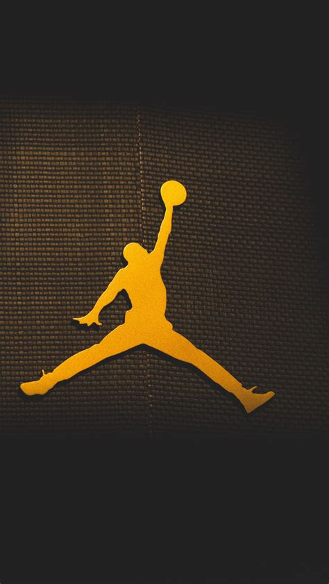 jordan logo iphone wallpaper hd