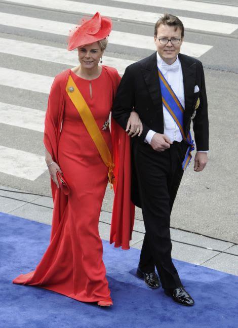 Dutch Prince Constantijn and Princess Laurentien
