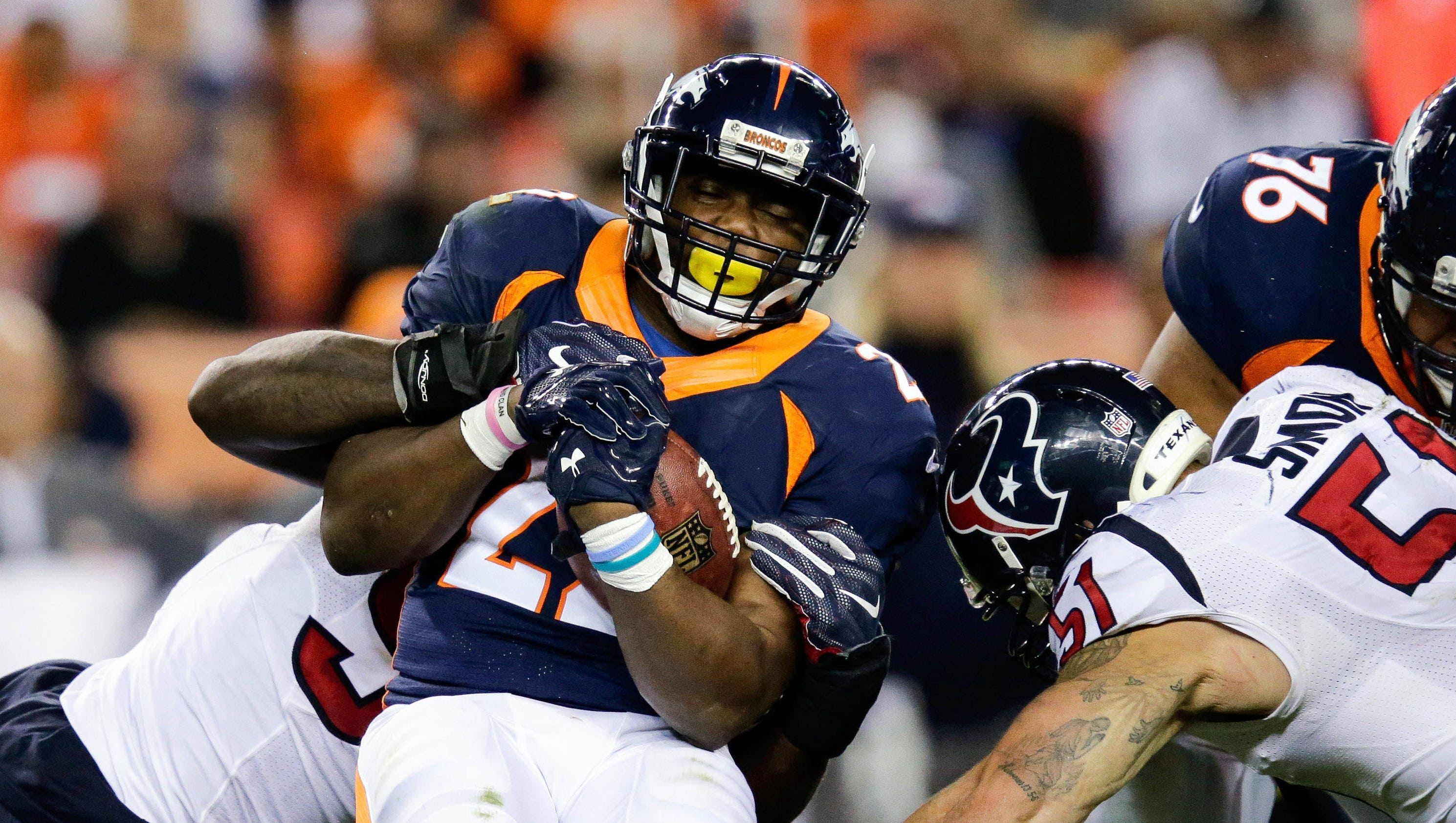 Broncos RB C.J. Anderson headed to injured reserve, out at least two months