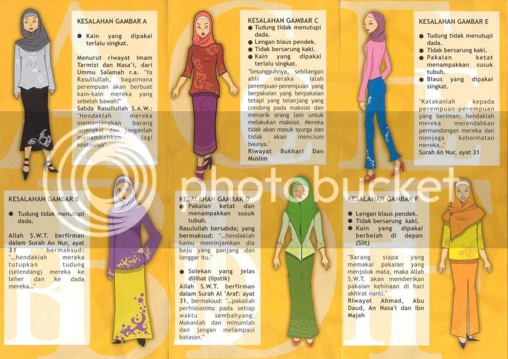 Penutupan Aurat Wanita Pictures, Images and Photos