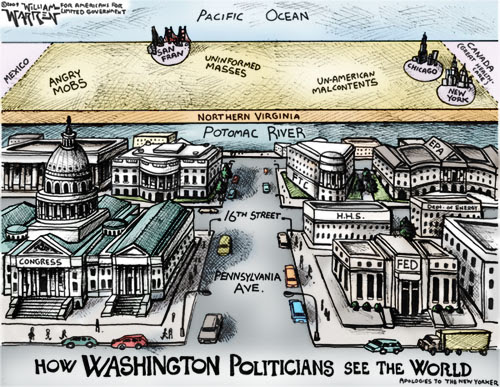 How Politicians See the World