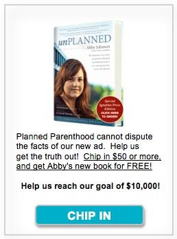 Abby Johnson TV Ad