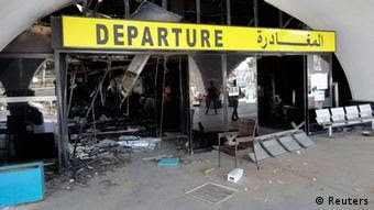A Libyan Airport seized by Islamists