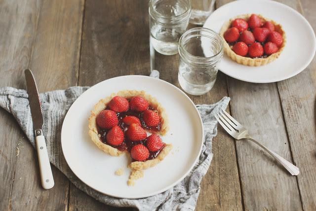 honey & jam tarts