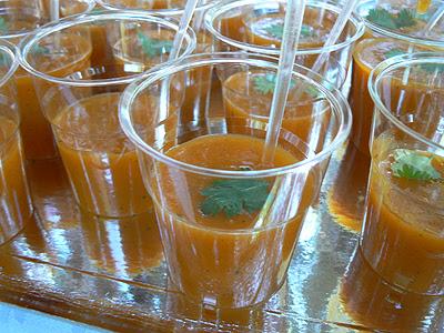 soupes de carottes