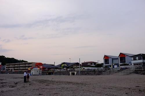 Kamakura-coast, Cloudy, Before summer