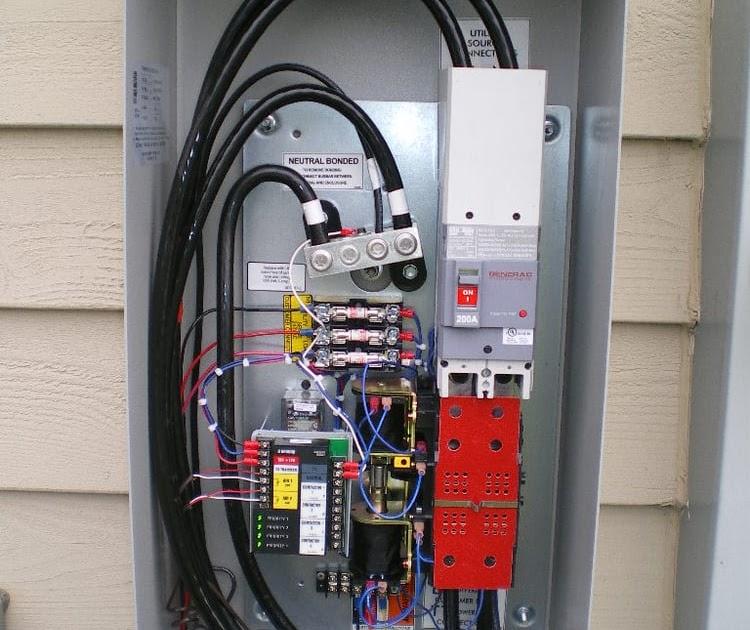 Ats Switch Wiring Diagram