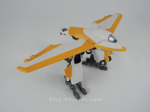 Transformers Sunspot Hunt for the Decepticons Scout - modo batalla
