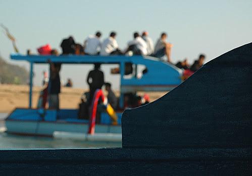 The boat to Lembongan