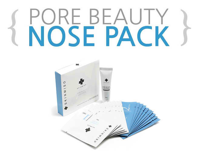 Advertorial Review SKINMISO Pore beauty nose pack ...