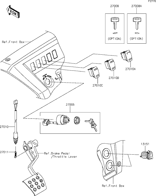 kawasaki mule ignition wiring diagram